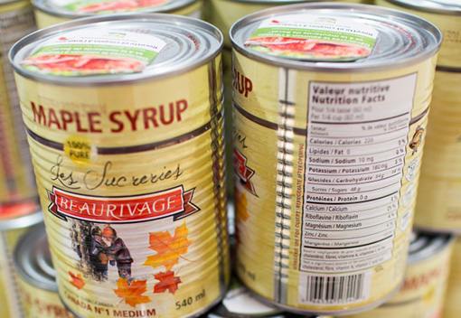 Beaurivage maple syrup