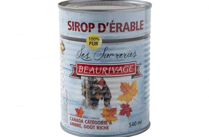 AMBER Beaurivage Maple Syrup