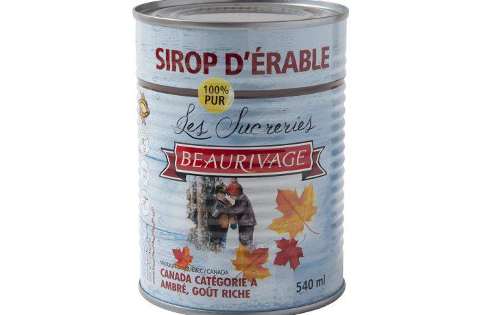 Sirop d'érable AMBRÉ Beaurivage