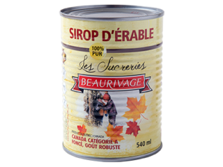 DARK Beaurivage Maple Syrup