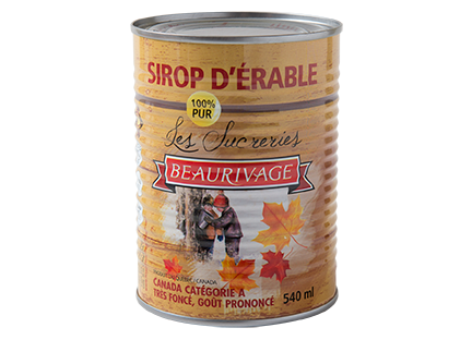 VERY DARK Beaurivage Maple Syrup